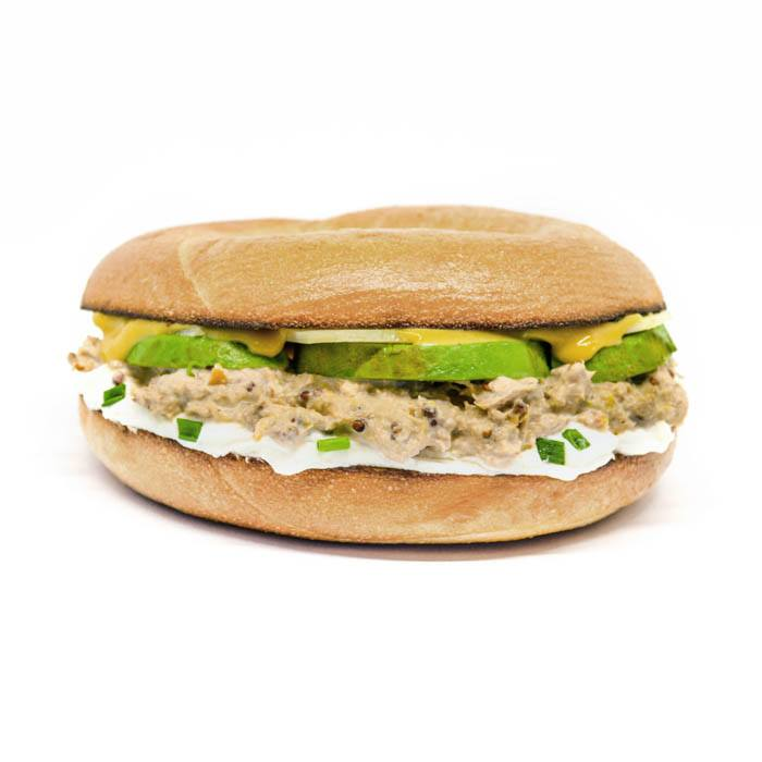 Bagel Tuna Fish